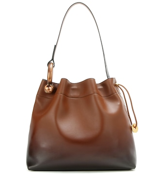 Tom Ford - Schultertasche Medium Hook aus Leder - mytheresa.com