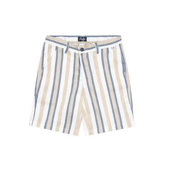 Il Gufo - Striped linen-blend bermuda shorts - mytheresa.com