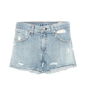Rag & Bone - Boyfriend denim shorts - mytheresa.com