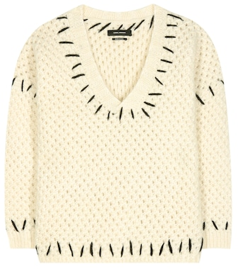 Isabel Marant - Goldy wool-blend sweater - mytheresa.com