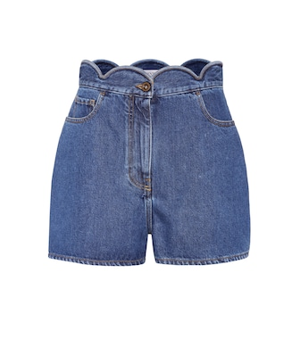 Valentino - Denim shorts - mytheresa.com