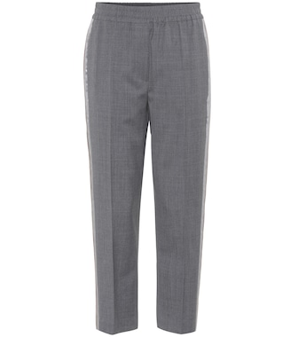 Brunello Cucinelli - Cropped wool trousers - mytheresa.com