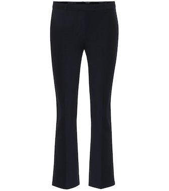 S Max Mara - Umanita stretch-cotton twill pants - mytheresa.com