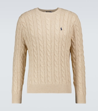 Polo Ralph Lauren - Cotton cable knitted sweater - mytheresa.com
