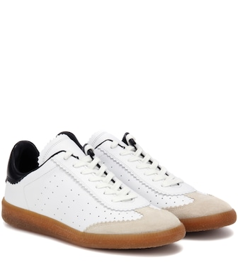 Isabel Marant - Étoile Bryce leather sneakers - mytheresa.com
