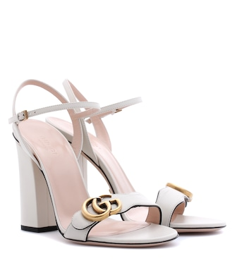 Gucci - Leather sandals - mytheresa.com