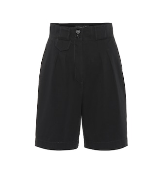 Etro - High-rise stretch-cotton shorts - mytheresa.com