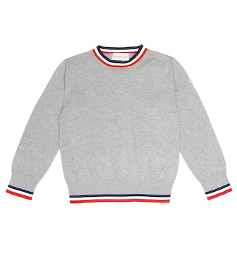 Moncler Enfant - Cotton sweater - mytheresa.com