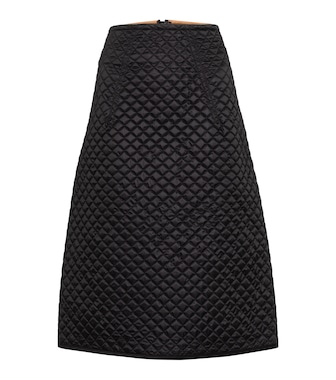 Moncler Genius - 2 MONCLER 1952 quilted down midi skirt - mytheresa.com