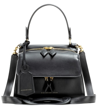 Victoria Beckham - Mini Full Moon leather tote - mytheresa.com