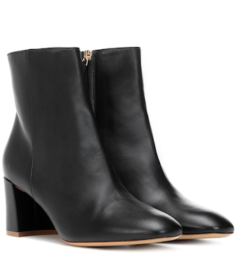 Mansur Gavriel - Leather ankle boots - mytheresa.com