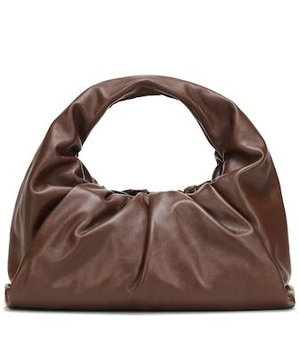 Bottega Veneta - The Shoulder Pouch leather tote - mytheresa.com