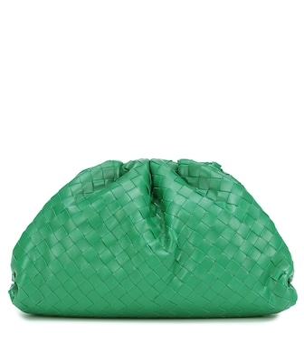 Bottega Veneta - Clutch The Pouch aus Leder - mytheresa.com