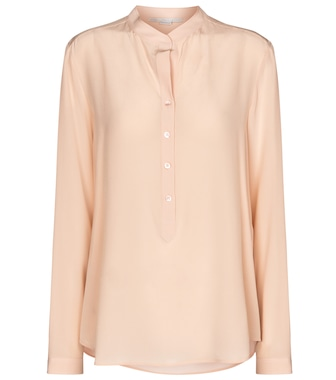 Stella McCartney - Eva silk crêpe de chine shirt - mytheresa.com