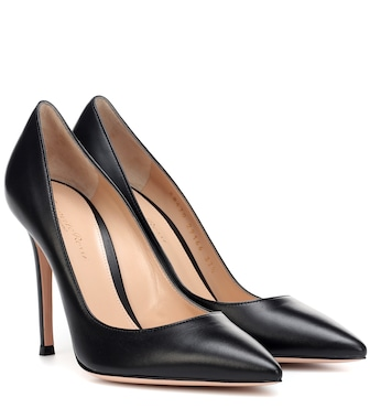 Gianvito Rossi - Pumps Gianvito 105 in pelle - mytheresa.com