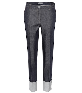 Bottega Veneta - Stretch-cotton jeans - mytheresa.com