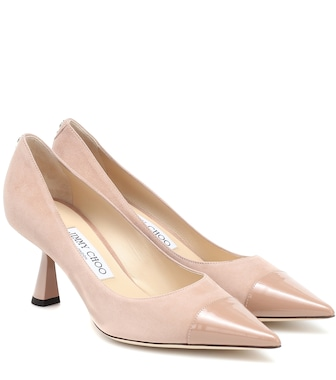 Jimmy Choo - Pumps Sue 65 aus Veloursleder - mytheresa.com