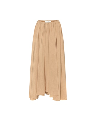 Jil Sander - Pleated midi skirt - mytheresa.com
