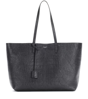 Saint Laurent - Large Shopping leather shopper - mytheresa.com