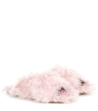 Miu Miu - Exclusive to mytheresa.com – faux-fur slides - mytheresa.com