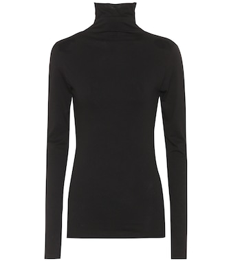 Velvet - Talisia cotton turtleneck top - mytheresa.com