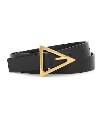 Bottega Veneta - Exclusive to Mytheresa – Leather belt - mytheresa.com