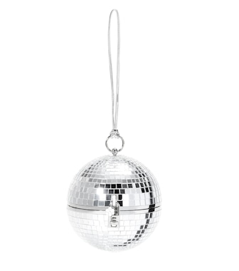 Dolce & Gabbana - Discoball mirrored clutch - mytheresa.com