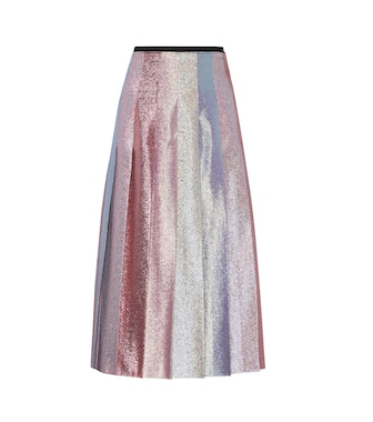 Gucci - Lamé pleated skirt - mytheresa.com
