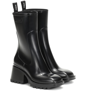 Chloé - Betty PVC ankle boots - mytheresa.com