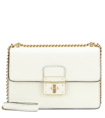 Dolce & Gabbana - Rosalia leather shoulder bag - mytheresa.com
