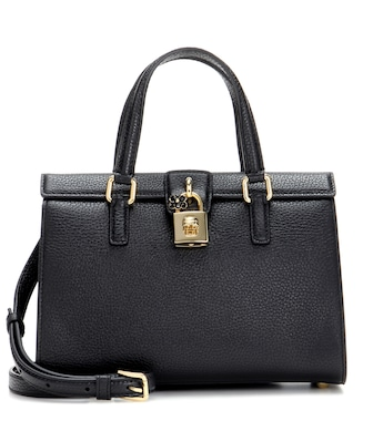 Dolce & Gabbana - Dolce Lady leather tote - mytheresa.com