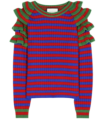 Gucci - Striped wool sweater - mytheresa.com