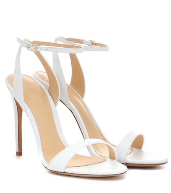 Alexandre Birman - Leather sandals - mytheresa.com