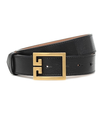Givenchy - Double G leather belt - mytheresa.com