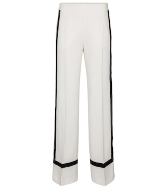 Max Mara - Cuneo high-rise wide crêpe pants - mytheresa.com