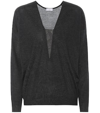 Brunello Cucinelli - Cashmere and silk sweater - mytheresa.com