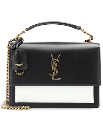 Saint Laurent - Medium Sunset leather shoulder bag - mytheresa.com