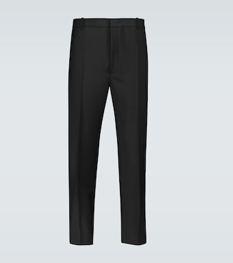 Jil Sander - Wool and mohair-blend pants - mytheresa.com