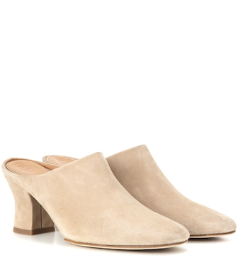 The Row - Adela suede mules - mytheresa.com