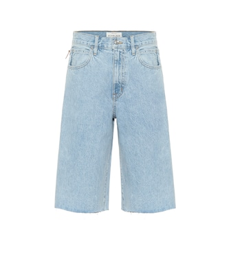 Slvrlake - High-rise denim shorts - mytheresa.com