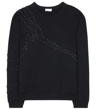 Dries Van Noten - Embellished cotton sweater - mytheresa.com