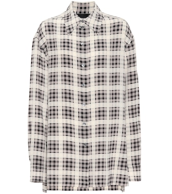 Marc Jacobs - Checked silk shirt - mytheresa.com
