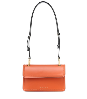 Marni - Beat leather shoulder bag - mytheresa.com