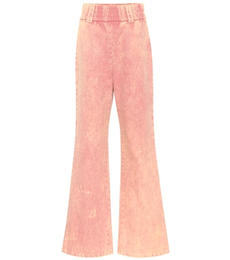 Miu Miu - High-Rise Flared Jeans - mytheresa.com