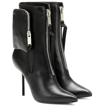 Unravel - Leather ankle boots - mytheresa.com