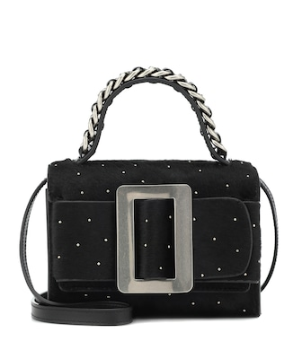 Boyy - Fred calf hair shoulder bag - mytheresa.com