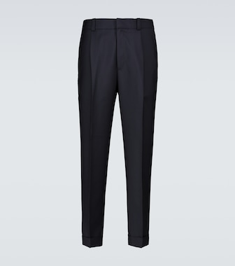 Acne Studios - Tapered wool-blend pants - mytheresa.com