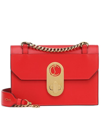 Christian Louboutin - Elisa Small leather shoulder bag - mytheresa.com