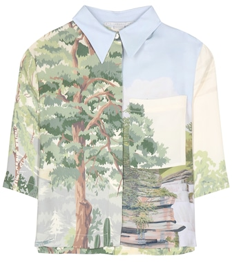Stella McCartney - Aspen printed top - mytheresa.com