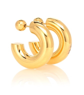 Sophie Buhai - Donut Hoops Small 18kt gold-plated earrings - mytheresa.com